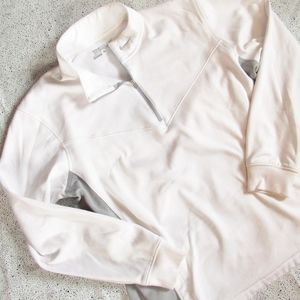 NIKE Golf White Quarter Zip